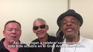 UB40 invita a su concierto en Gran Arena Monticello