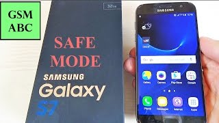 how to easily remove a malware or apps on samsung galaxy s7 s7 edge safe mode