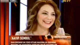 Erhan Altunay ve Petek Demir NTV'de masonluk ve Dan Brown üzerine konuşuyor