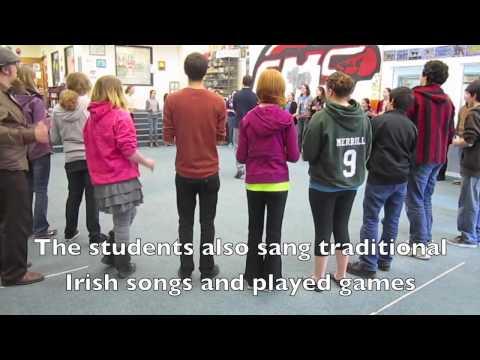 Accelerated Irish language program at Corbett middle school, April-May 2012
