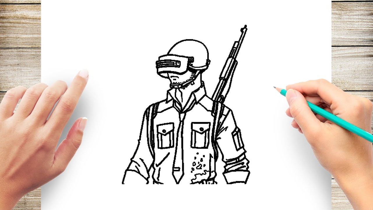 How To Draw Pubg
