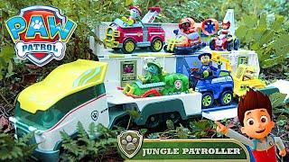 Щенячий Патруль на русском - Патрулевоз в Джунглях новые серии. Paw Patrol Jungle Patroller Rescue.