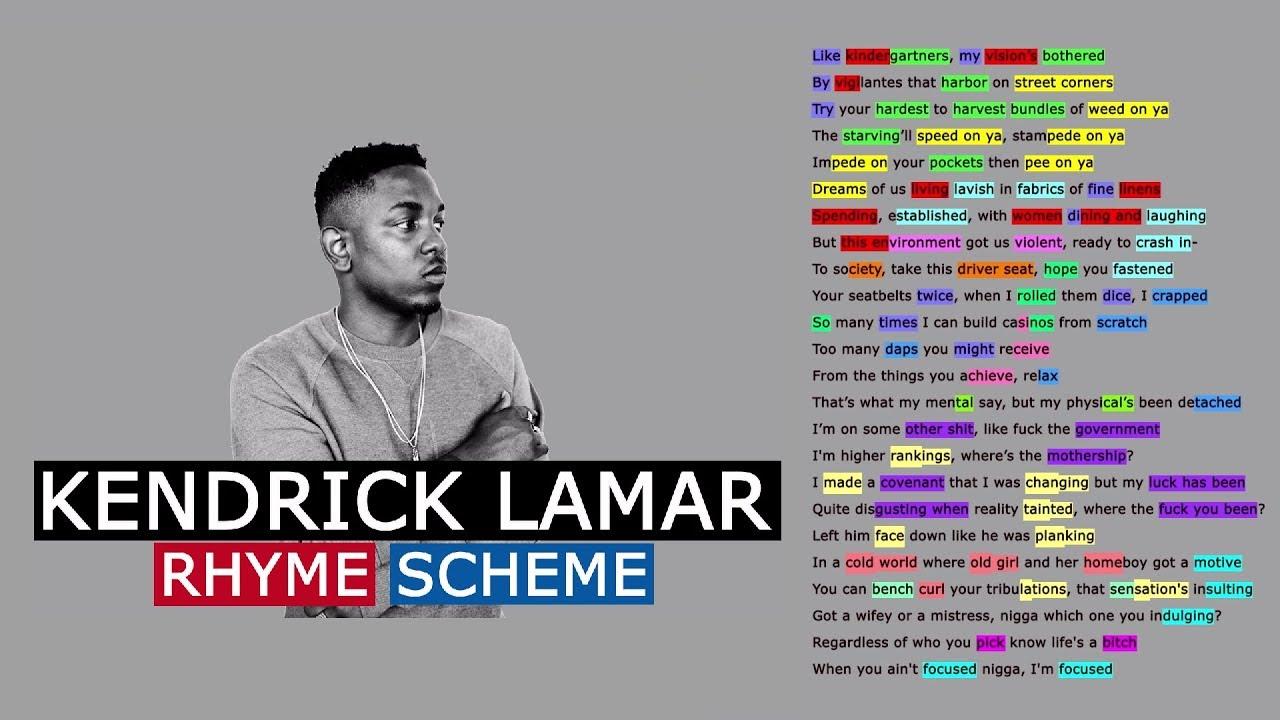 Kendrick lamar on push thru rhyme scheme youtube - Kendrick lamar swimming pools torrent ...