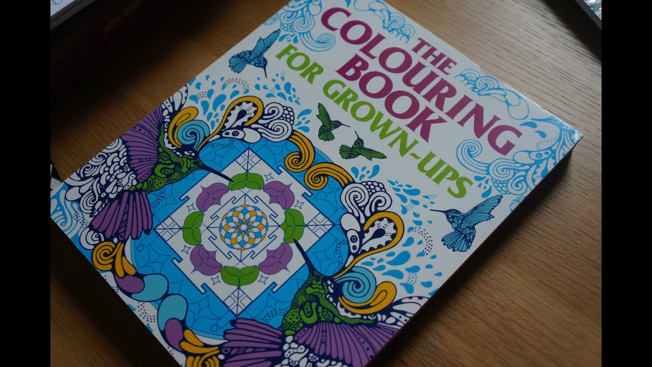 The Colouring Book for GrownUps By Arcturus 250 Pages Flipthrough ...