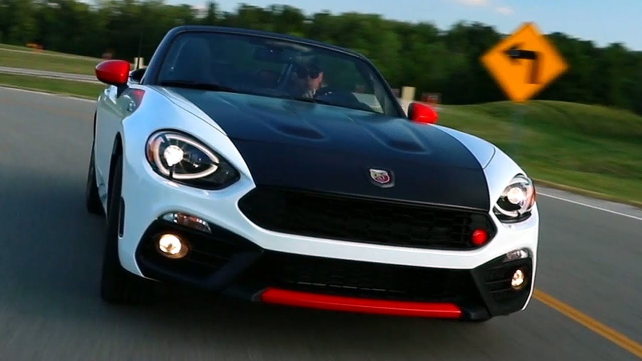 2019 Fiat 124 Spider Abarth Us Spec