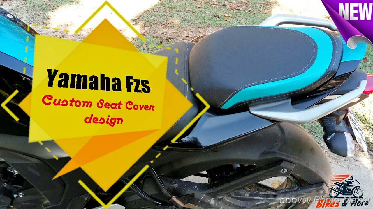 Yamaha fzs modified best custom seat cover modification