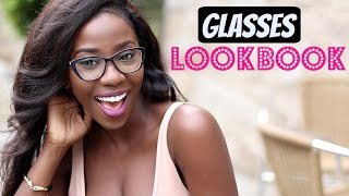GLASSES LOOKBOOK - HOW TO SLAY DIFFERENT STYLES | AdannaDavid