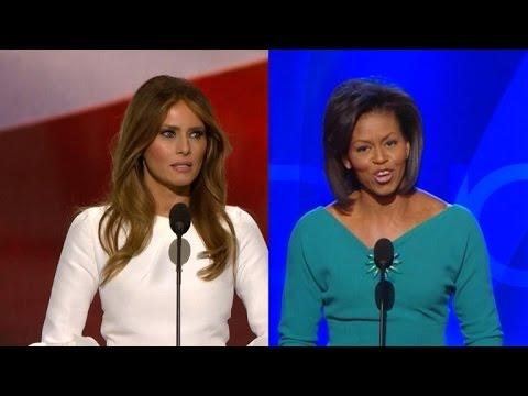Trump Campaign Denies Melania Plagiarized Michelle Obama's Speech