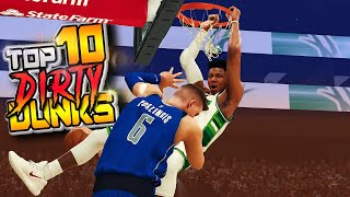TOP 10 DIRTY DUNKS & Funny Reactions Plays Of The Week #39 - NBA 2K20