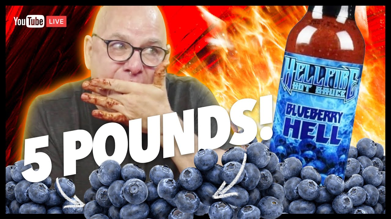 5LBS OF BLUEBERRY HELL | LIVE CHAT