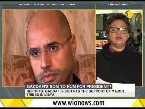 Gaddafi's son Saif Al-Islam to run for Libyan presidency next year