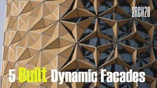 5 Built With Dynamic Facades - 5 አስደናቂ የህንጻ ገጽታ ያላቸው ህንጻዎች