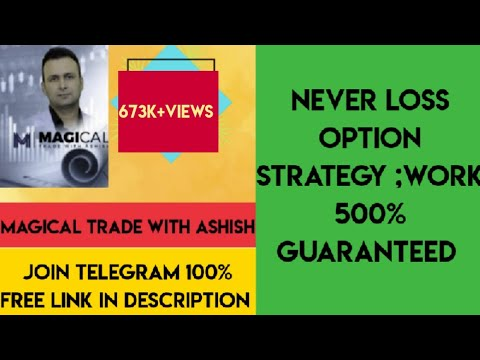 Never loss Option strategy,work 500% Guaranteed