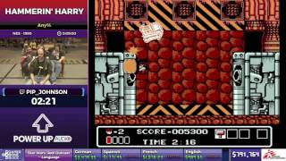 Hammerin' Harry by pip_johnson in 7:18 - SGDQ2017 - Part 114
