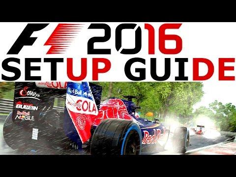 F1 2016 Setup Guide Deutsch | Wie das Fahrzeug abstimmen? Formel 1 2016 Tutorial German | CSW