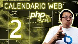 Calendario web con PHP y MySQL utilizando fullcalendar (Video 2- Lenguaje y header)