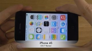 iPhone 4S - iOS 7 Review