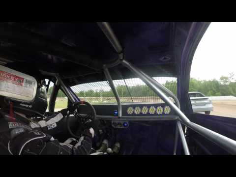 Ransomville speedway 4cyl heat 6/9/17 #43