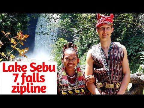 Lake Sebu Seven Falls - Highest Zipline in Asia (roadtrip to South Cotabato)