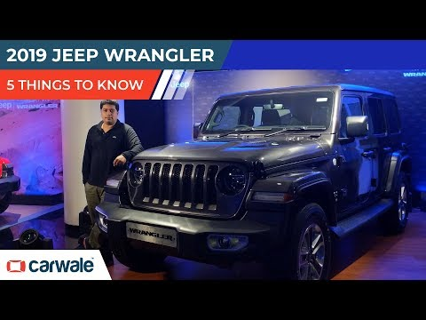Jeep Wrangler | 5 Things To Know | CarWale
