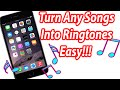 How To Turn A Song Into A Ringtone - IPhone, IPad, IPod Touch W/iTunes
