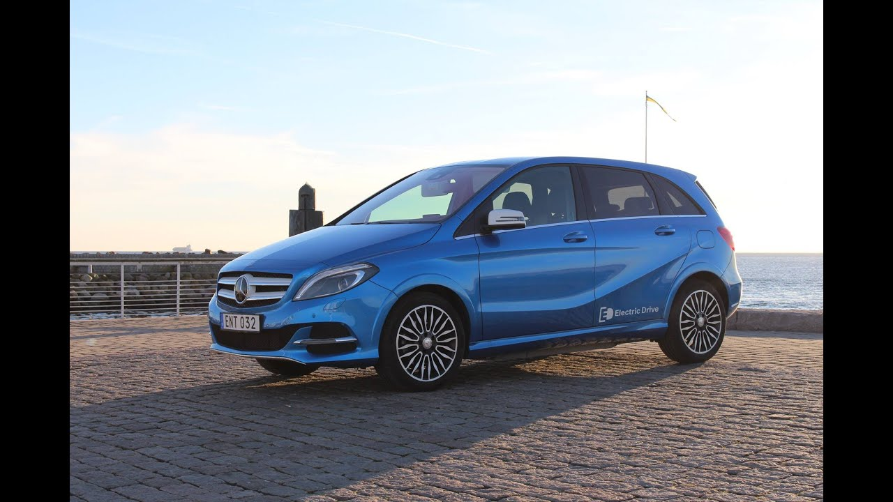 Mercedes Benz Goes Electric With Their New B Cl Review