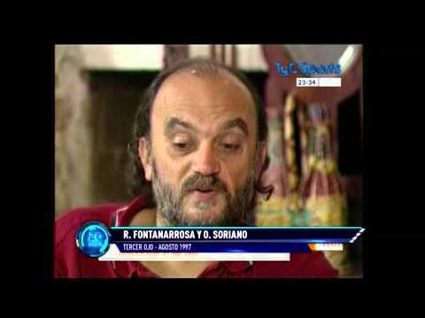 "Fontanarrosa-Soriano, una charla de café, en ""Tercer Ojo"" de TyC Sports"