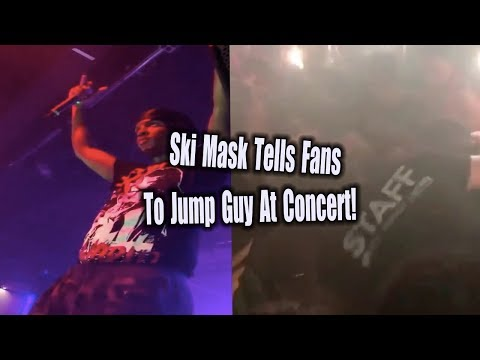 GUY GETS JUMPED AT SKI MASK CONCERT FOR DISRESPECTING XXXTENTACION!