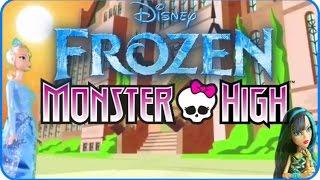 frozen en espaol episodio 1 la chica nueva del insti en monster high