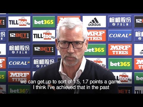 Alan Pardew Unveiled As New West Brom Manager
