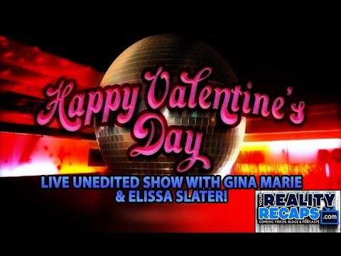 "LIVE UNEDITED:  2/15 Valentines Day ""Love & Advice"" Show W/ Elissa & GM From BB15"
