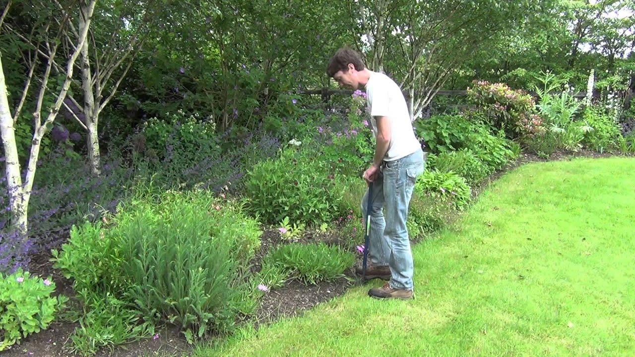 lawn edging tool youtube