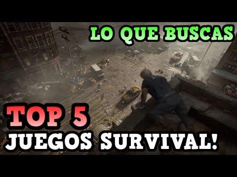 TOP 5 MEJORES JUEGOS DE SUPERVIVENCIA PARA ANDROID | RidoMeyer