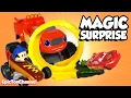 SURPRISE TOYS MAGIC Mickey Roadster Racers, Wheres Mickey + Surprise Eggs & Disney CARS Toy Surprise