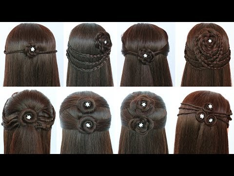 8 Quick And Easy Hairstyles For Open Hair Hairstyles For