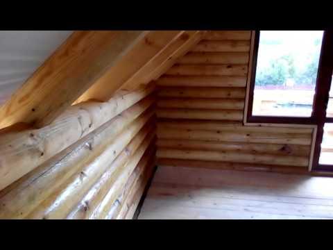 Деревянный дом второй этаж woodenhouse.com.ua