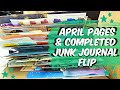 Completed Creative Journal Flip Through : JAN-APRIL 2019