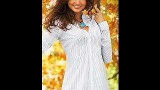 Белые блузки(Классические женские рубашки и романтичные блузы белого цвета. Женские белые рубашки всегда ассоциировал..., 2015-05-16T18:51:41.000Z)