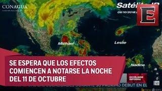 Carlos Godínez habla de la tormenta tropical Sergio