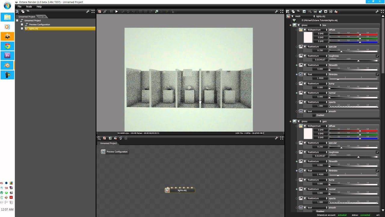 Octane render tutorial series v3: volumetrics & smoke part 1 39.