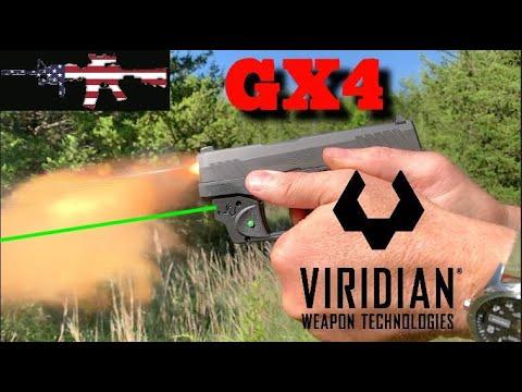 Taurus GX4 - Viridian Green Laser