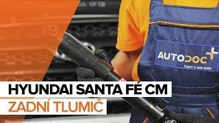 Jak vyměnit zadní tlumič na HYUNDAI SANTA FÉ CM NÁVOD | AUTODOC