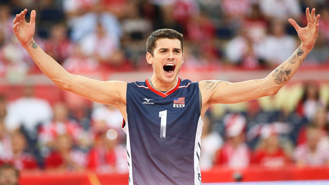 Matt Anderson - USA vs Serbia FIVB 2015 World League Volleyball ...