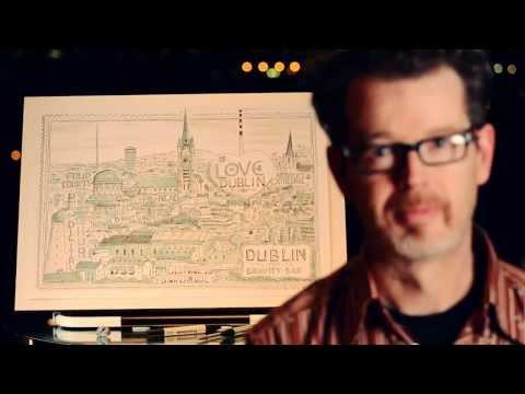 Dublin Timelapse Illustration | Steve Simpson