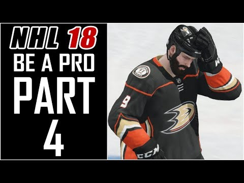 NHL 18 - Be A Pro Career - Let's Play - Part 4 -
