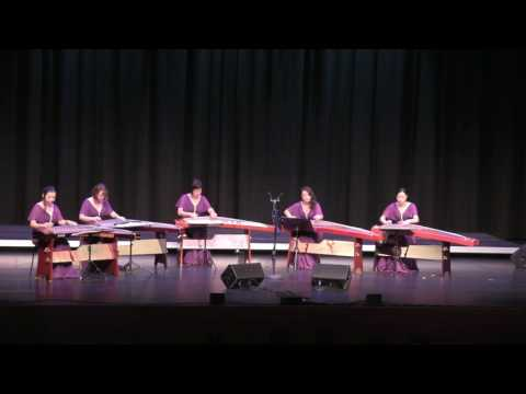 Canon in D - Sound of China Guzheng Ensemble 2016 Concert
