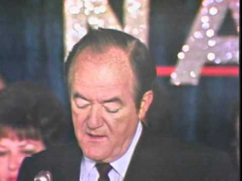 Hubert Humphrey concedes 1968 election
