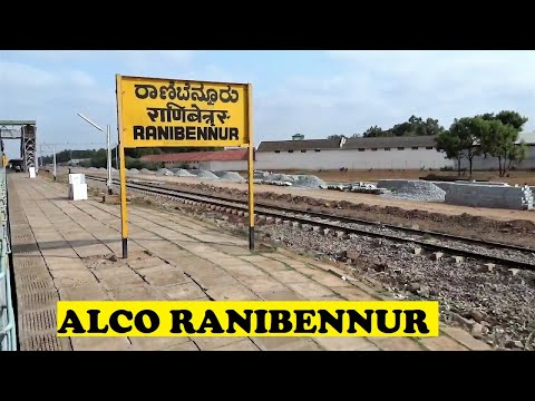 Hubli Kochuveli Express Departs Chugs Off Ranibennur