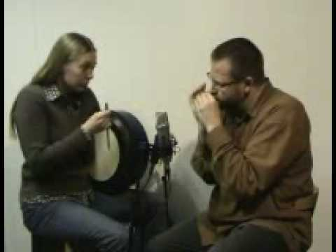 "HARMONICA & BODHRAN: ""The Didgeriblues"". Lucy Randall and Brendan Power"