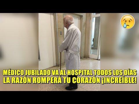 Médico jubilado de 91 años va al hospital todos los días, ¡La razón hizo conmover a todo el mundo!